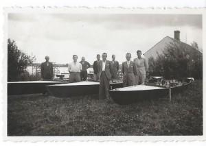 Foråret 1939, Roklubben har nu tre både!